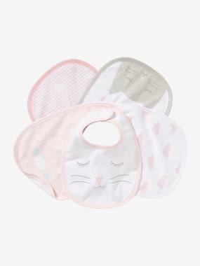Nursery-Mealtime-Bibs-Pack of 5 Newborn Bibs