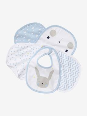 Summer collection-Nursery-Pack of 5 Newborn Bibs
