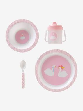 Vertbaudet Collection-Nursery-VERTBAUDET 4-Piece BPA-Free Meal Set