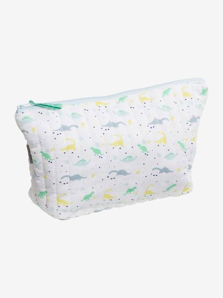 Children's Toiletry Bag PINK LIGHT ALL OVER PRINTED+WHITE DARK ALL OVER PRINTED+WHITE LIGHT ALL OVER PRINTED - vertbaudet enfant