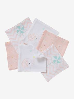 Nursery-Bathing & Babycare-[Accessoires bain]-Pack of 6 Wipes