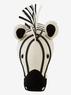 Vertbaudet Collection-Decoration-Zebra Head Trophy