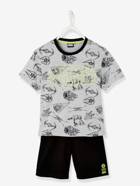 Boys-Nightwear-Short Pyjamas with Stars Wars® Print
