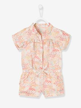 Bonnes affaires-Baby-Jumpsuit with Print for Baby Girls