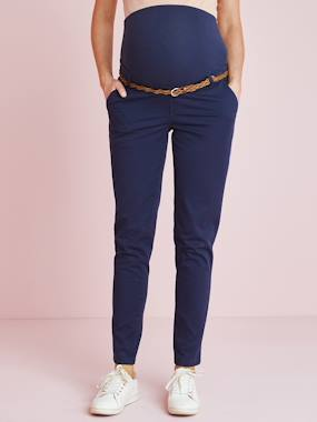 Maternity-Maternity Chino Trousers, Inside Leg 32 cm