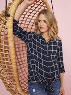 Chequered Maternity Tunic  - vertbaudet enfant