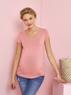 Vertbaudet Collection-Maternity-Short-Sleeved Maternity T-Shirt