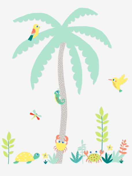 Giant Sticker, Desert Island Theme Muticolour - vertbaudet enfant