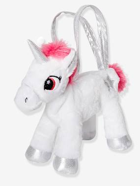 Vertbaudet Collection-Girls-Plush Unicorn Bag for Girls