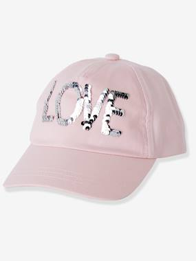 Girls-Sportswear-Cap with Reversible Sequins for Girls