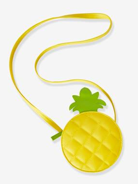 Vertbaudet Collection-Pineapple Circle Body Bag for Girls