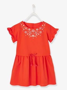 Mid season sale-Short-Sleeved Dress for Girls