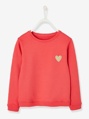 Girls-Cardigans, Jumpers & Sweatshirts-Girls' Pretty Sweatshirt