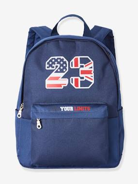 Sportwear-Two-Tone Backpack for Boys