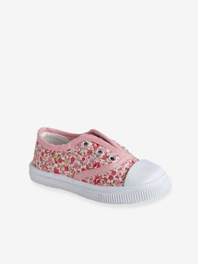 Vertbaudet Collection-Shoes-Girls' Fabric Trainers