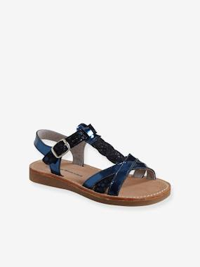 Sandales-Sandales en cuir fille collection maternelle
