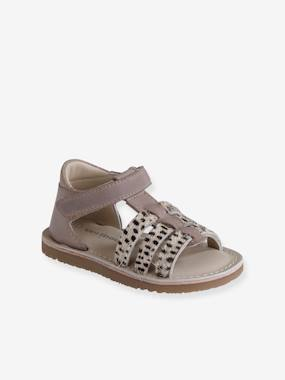Shoes-Baby Footwear-Baby Girl Walking-Sandals-Leather Sandals for Baby Girls