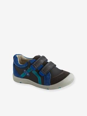 Vertbaudet Sale-Shoes-Boys Footwear-Boys' Leather Shoes, Designed For Autonomy