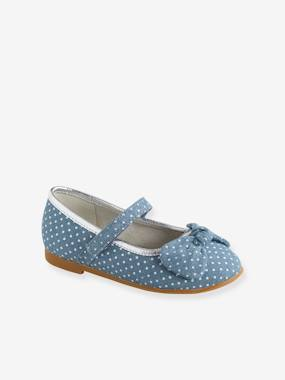 Chaussures-Chaussures fille 23-38-Ballerines, babies-Ballerines scratchées fille collection maternelle