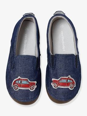 Shoes-Boys Canvas Slippers