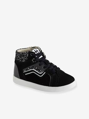 Chaussures-Baskets en cuir fille collection maternelle