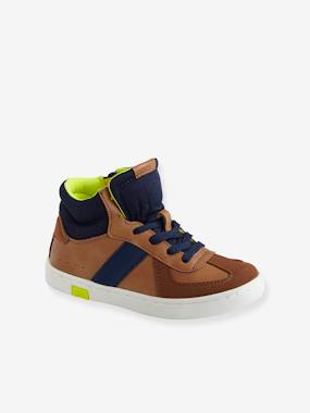 Baskets-Trainers with Zip & Laces, for Boys