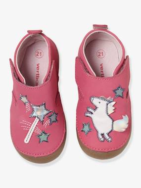 Shoes-Baby Footwear-Slippers & Booties-Baby Soft Leather Slippers