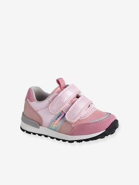 Vertbaudet Collection-Shoes-Touch-Fastening Trainers for Baby Girls, Runner-Style