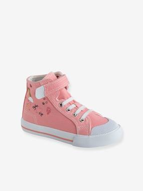 Chaussures-Chaussures fille 23-38-Baskets, tennis-Baskets hautes fille collection maternelle