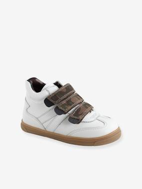 Shoes-Baskets Mid en cuir garçon collection maternelle