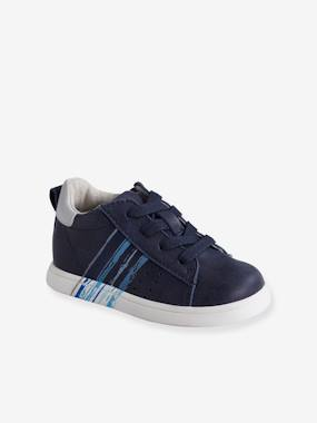 Shoes-Baby Footwear-Leather Trainers for Baby Boys