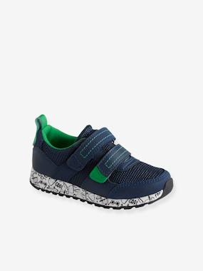 Baskets-Trainers with Touch-Fastening Tabs for Boys, Designed for Autonomy