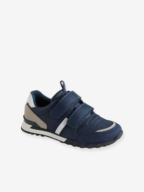 Vertbaudet Sale-Shoes-Boys Footwear-Running-Type Trainers with Touch-Fastening Tab, for Boys