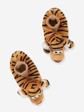Shoes-Boys Footwear-Slippers-Plush Slippers for Baby Boys