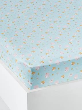 Bedding-Baby Bedding-Fitted Sheets-Fitted Sheet, Love in the Forest Theme
