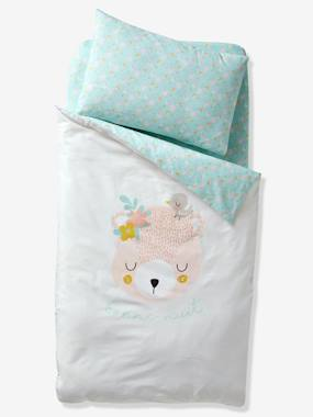 Bedding & Decor-Baby Bedding-Duvet Covers-Duvet Cover for Babies, Love in the Forest Theme