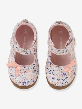 Vertbaudet Collection-Shoes-Ballet Pump Slippers for Baby Girls