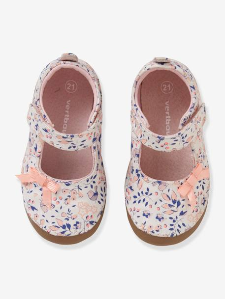 bdcd12e2fa Ballet Pump Slippers for Baby Girls - pink medium all over printed ...