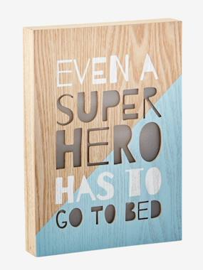 Vertbaudet Collection-Decoration-Superhero Light-Up Box