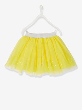 Girls-Skirts-Skirt in Sequinned Tulle