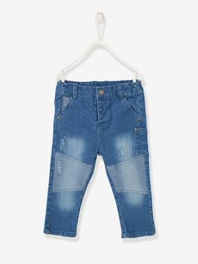 Mid season sale-Baby-Trousers & Jeans-Slim Leg Denim Jeans for Baby Boys