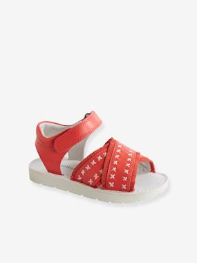 Bonnes affaires-Shoes-Leather Sandals for Girls