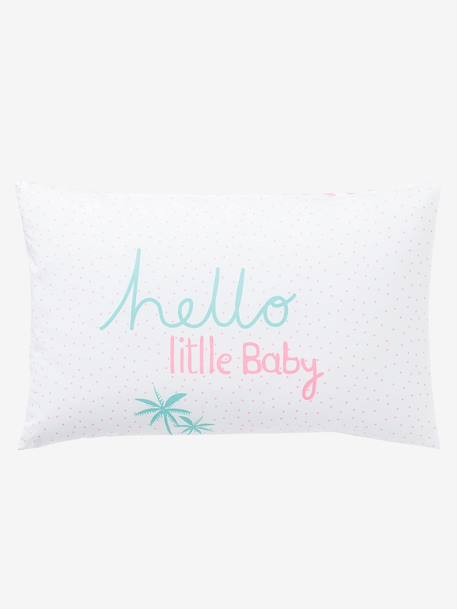 Summer Sorbert Pillowcase White/pink - vertbaudet enfant