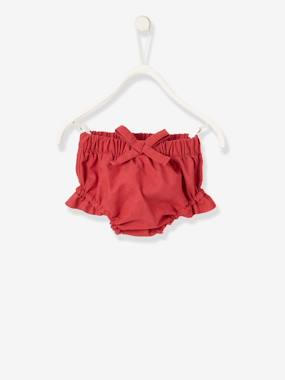 Baby-Trousers & Jeans-Bloomer-Style Shorts for Baby Girls