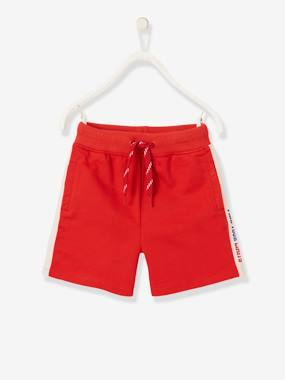 Boys-Shorts-Sports Bermuda Shorts, Side Stripe, for Boys