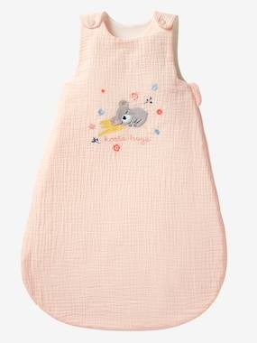 Vertbaudet Collection-Bedding-Summer Baby Sleep Bag, Sleeveless,  Koala Hugs Theme