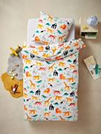 Duvet Cover + Pillowcase Set, JUNGLE SPIRIT Theme  - vertbaudet enfant