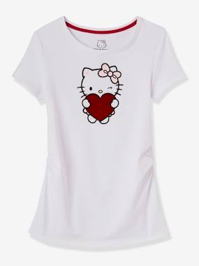 Maternity-T-shirts & Tops-Hello Kitty® Printed Maternity T-Shirt