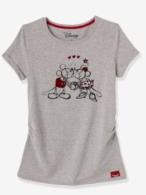 Maternity-T-shirts & Tops-Minnie® Printed Maternity T-Shirt