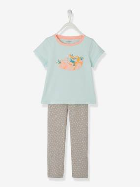 Mid season sale-Girls-Nightwear-Glow-in-the-Dark Pyjamas for Girls